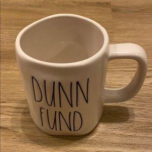 NWT Rae Dunn Dunn Fund Mug